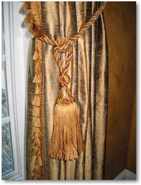 tassels for drapes 17 best images about window treatments on pinterest