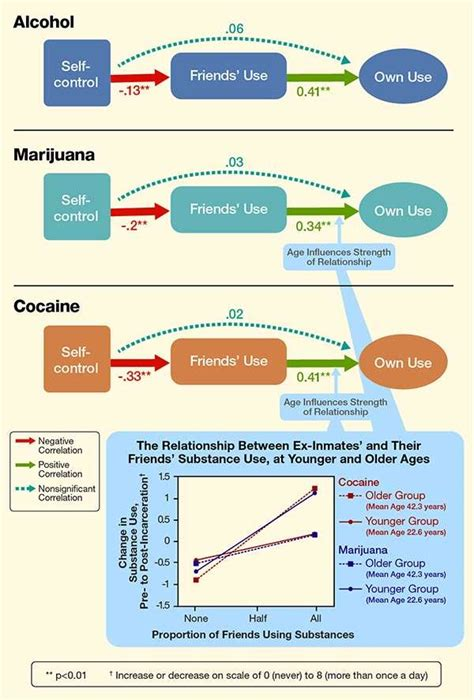 pattern of organization addition after release jail inmates substance use patterns relate