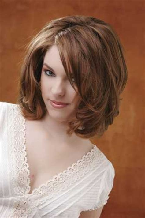 shoulderlength volume haircut medium length hairstyles for thick hair best medium