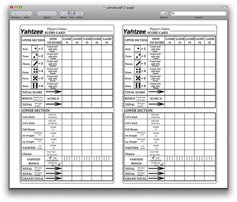 printable yahtzee score sheets online printable yahtzee score card perfect for when you only