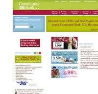 community bank na communitybankna is community bank n a right now