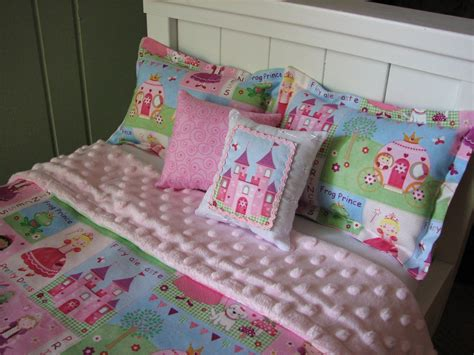 doll bedding american girl 18 doll princess bedding by madigracedesigns