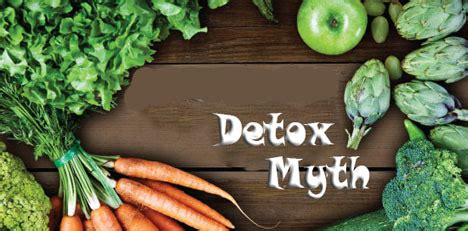 Detox Myths by The Detox Myth Cooking With Kathy