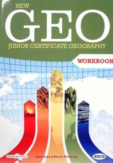 design workbook for junior certificate new geo junior certificate geography workbook for sale in
