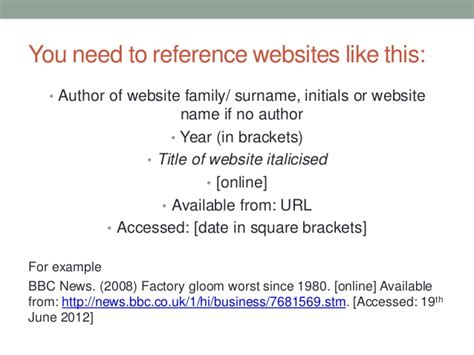 How Do You Cite A Website In An Essay by Ssrp Harvard Referencing