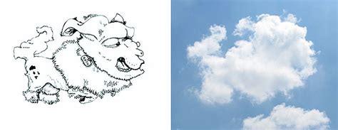 cara desain seorang pelukis melukis awan menjadi ilustrasi yang sangat kreatif dan unik