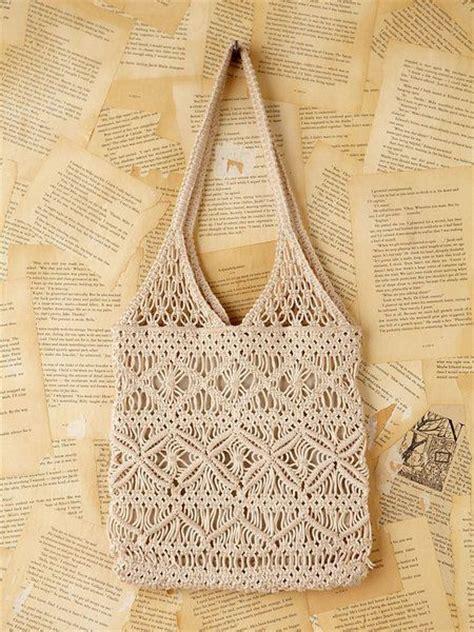Macrame Crochet - best 25 macrame bag ideas on macrame knots