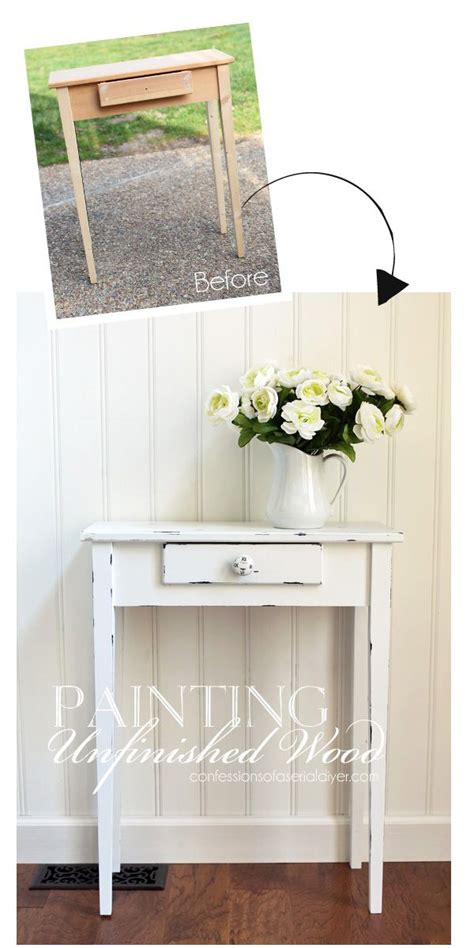 spray painting unfinished wood furniture the 25 best unfinished wood furniture ideas on