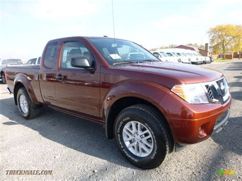 Nissan Frontier Sv by 2016 Nissan Frontier Sv King Cab 4x4 In Forged Copper