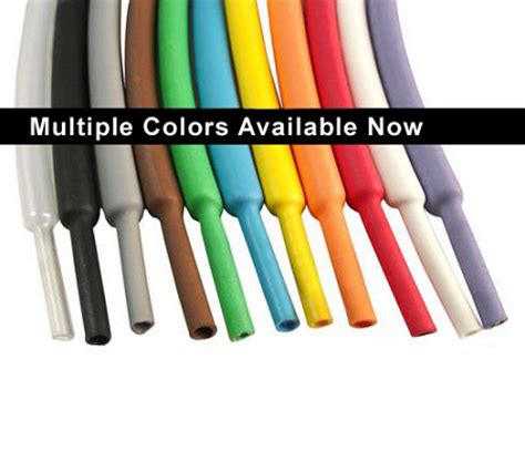 colored 2 1 heat shrink tubing standard polyolefin