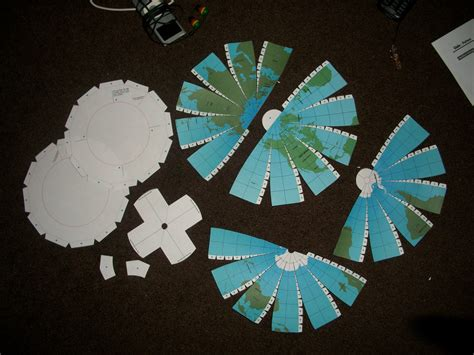 How To Make A Paper Globe - ellie langley paper another globe attempt