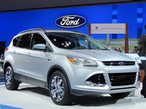2013 Ford Escape Value 2013 Ford Escape Pricing Released Sort Of