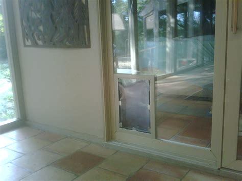Doggie Door Installation san antonio doors in glass installation gallery