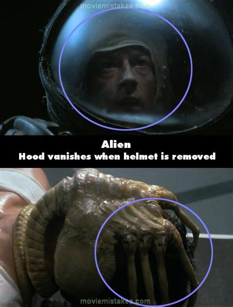 alien 1979 movie mistakes goofs and bloopers