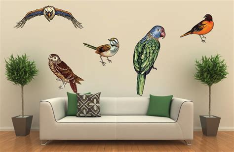 american eagle bird wall decor decal sticker removable