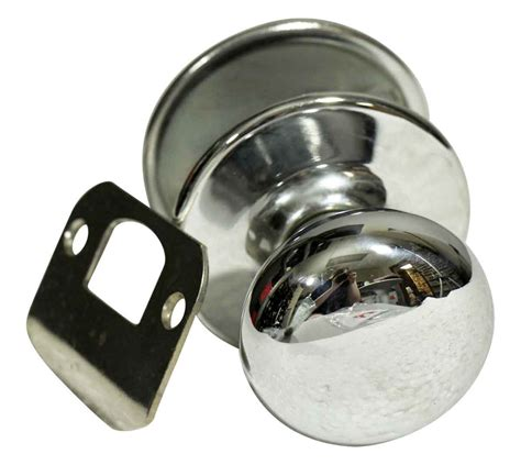 closet door knob closet chrome door knob set olde things