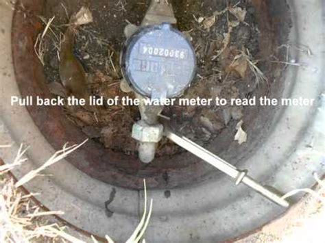 turn water off to house how to turn off the water to the house youtube