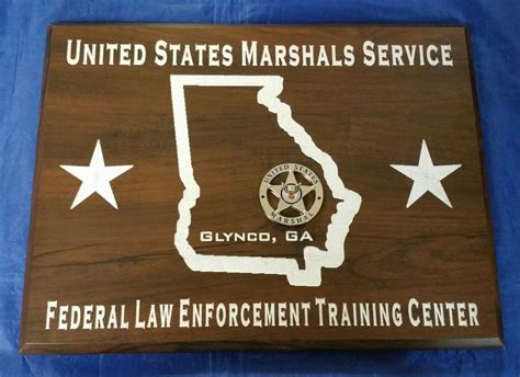 Federal Gift Card Law - us united states marshals federal law enforcement training center ga 12x9 sign ebay