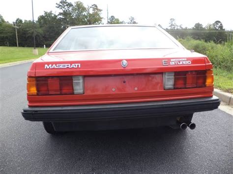 1985 maserati biturbo for 1985 maserati biturbo e for enhanced