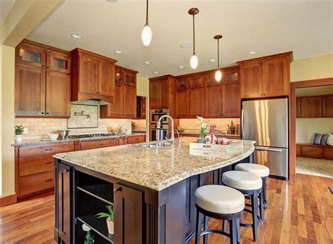 design for kitchen island countertops ideas 23022 new venetian gold granite countertops elegance gold granite