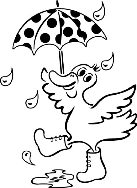 duck in the rain colouring page kindergarten joke of the day colouring page new bloggy cat