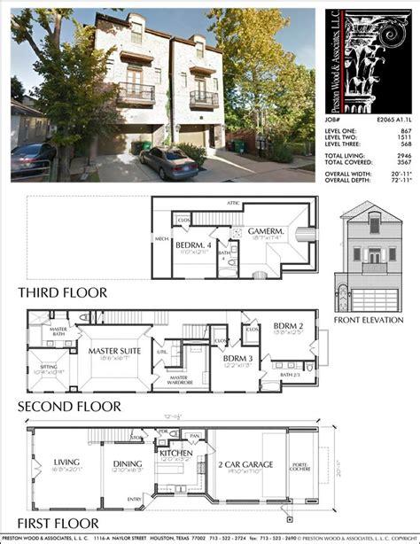 29 best images about townhouse floor plans on pinterest 25 best plany images on pinterest townhouse floor plans