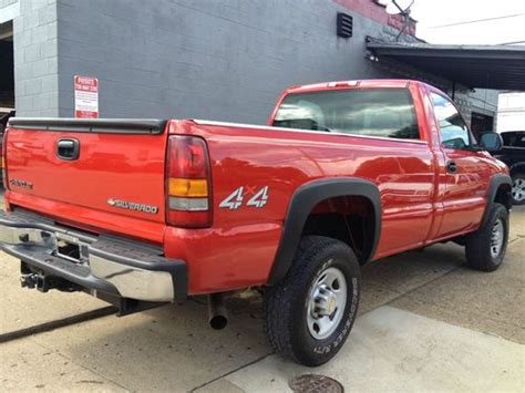 all car manuals free 2002 chevrolet silverado 2500 instrument cluster purchase used 2002 chevy silverado 2500hd 4wd 5 speed in logan ohio united states for us