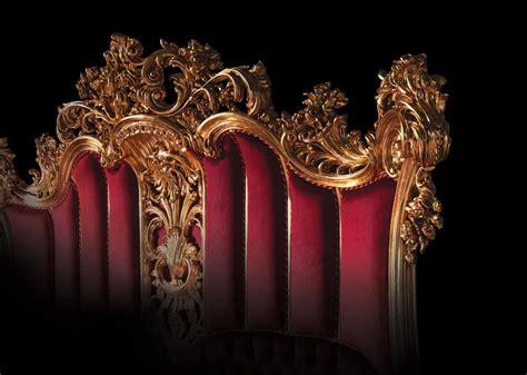 letto luigi xv letto di lusso in legno decorato in stile luigi xv per