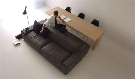 sofa mit zwei ottomanen sided sofas small space furniture