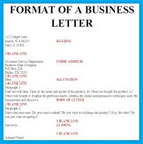 Types Of Business Letter In Different Types Of Business Letters Assignment Point