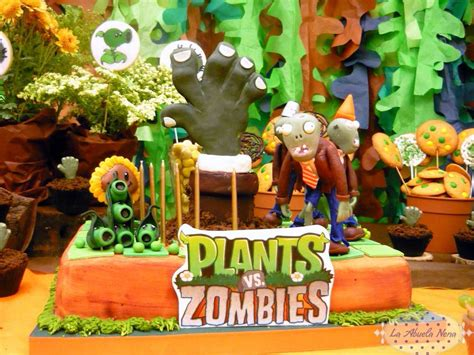 Plants Vs Zombies Birthday Decorations by Plants Vs Zombies Birthday Ideas Photo 3 Of 15