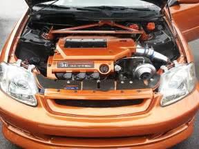 sell used 1996 honda civic hatchback 3 2 v6 turbo ek ej