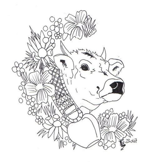 tattoo pen livestock swiss cow by angel food deviantart com on deviantart