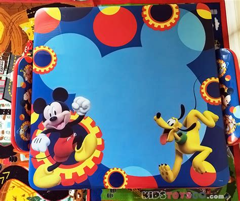 mickey mouse activity table set mickey mouse clubhouse activity table set