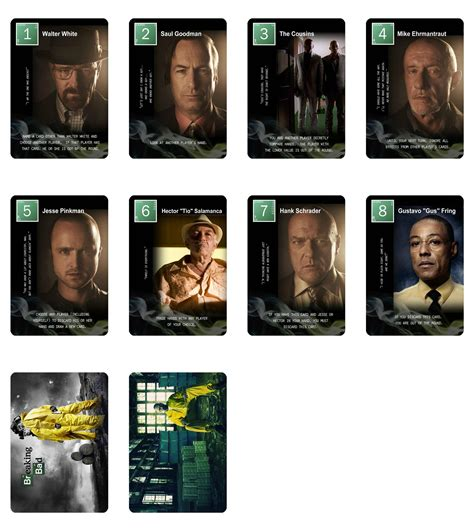 Letter Expansion Cards Heres A Breaking Bad Letter Set There Are Of Interesting Things Here This