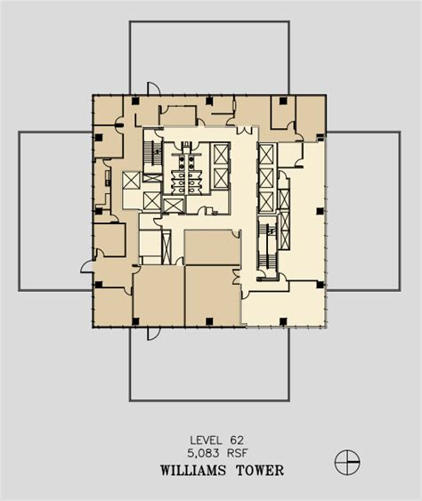 floor plan best views from rooms 53 62 picture of swissotel the williams tower 2800 post oak blvd 62nd floor unit 6200 vts