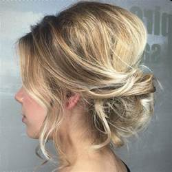updo hairstyle pictures 54 easy updo hairstyles for medium length hair in 2017