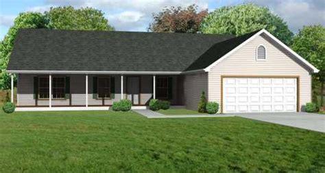rancher house 1344 sq ft 1 car garage 320 sq ft front ranch house plan 3 bedrooms 2 bath 1344 sq ft plan 51 119