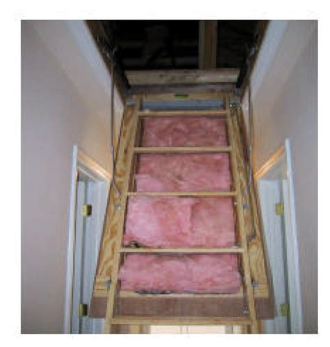 home improvement by attic stair insulation homes and