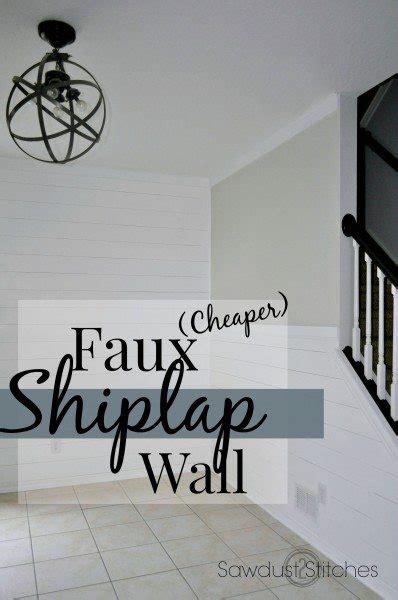 Interior Paneling Home Depot Faux Shiplap Walls Sawdust2stitches Com Bloglovin