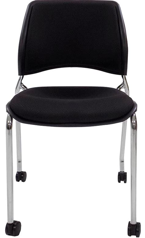 300 lb capacity desk chair 300 lb capacity padded mobile stacking guest chair