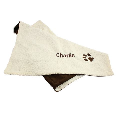 puppy blankets personalised luxury blanket pet blankets