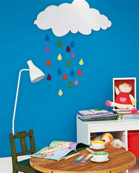 How To Make Decorations For Your Room Out Of Paper - diy room decoration projects rainy clouds or