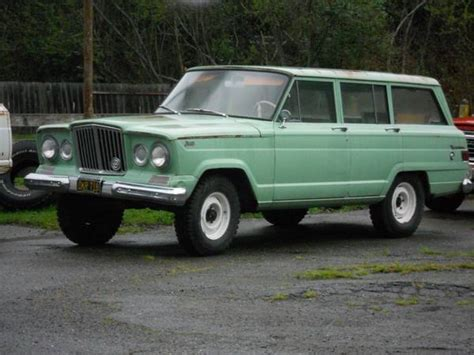 1964 Jeep Wagoneer 1964 Jeep Wagoneer Information And Photos Momentcar