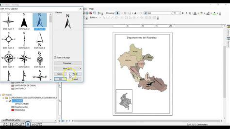 layout de mapa no arcgis crear mapa de impresi 243 n en arcmap arcgis youtube