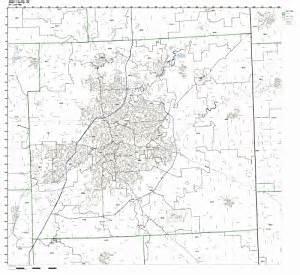 allen county indiana zip code map