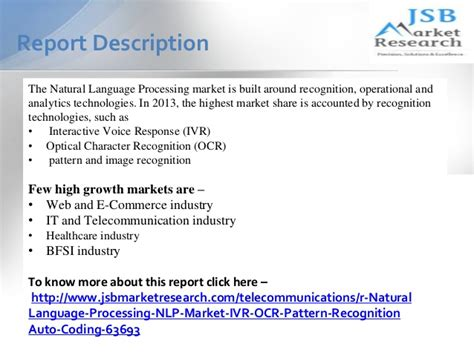 pattern recognition natural language processing jsb market research natural language processing nlp