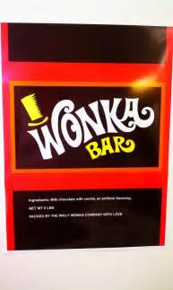 world s largest willy wonka bar wrapper amp golden ticket