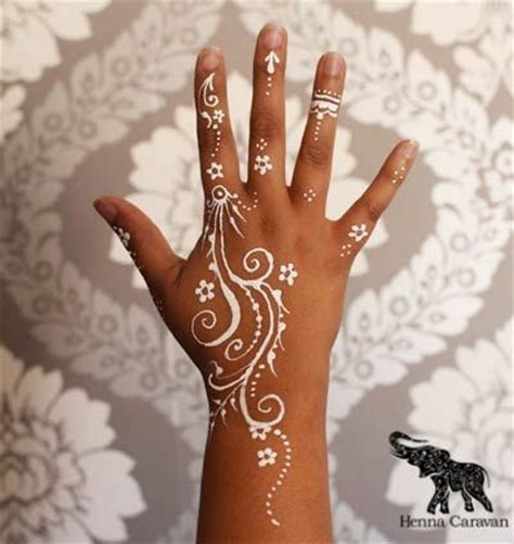 white henna tattoo tutorial easy white henna designs 2017 for every occasion