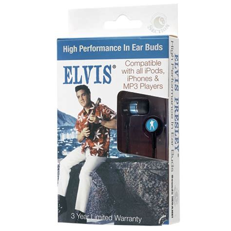 movie section 8 section 8 elvis movie earphones in tribute packaging